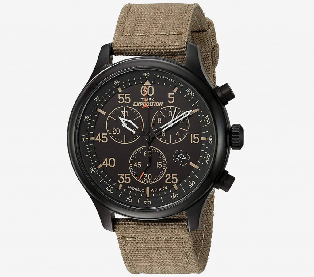 Timex Mens Expedition face