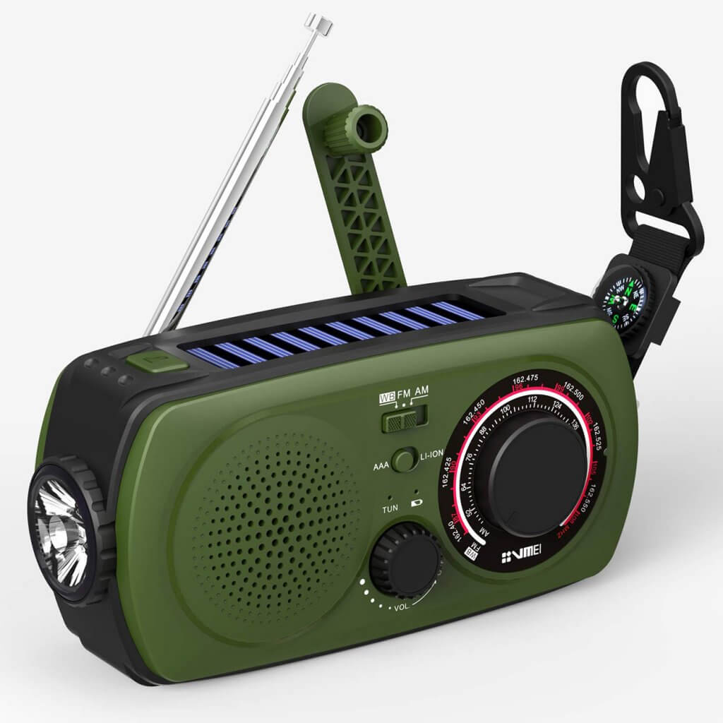 VMEI Emergency Radio