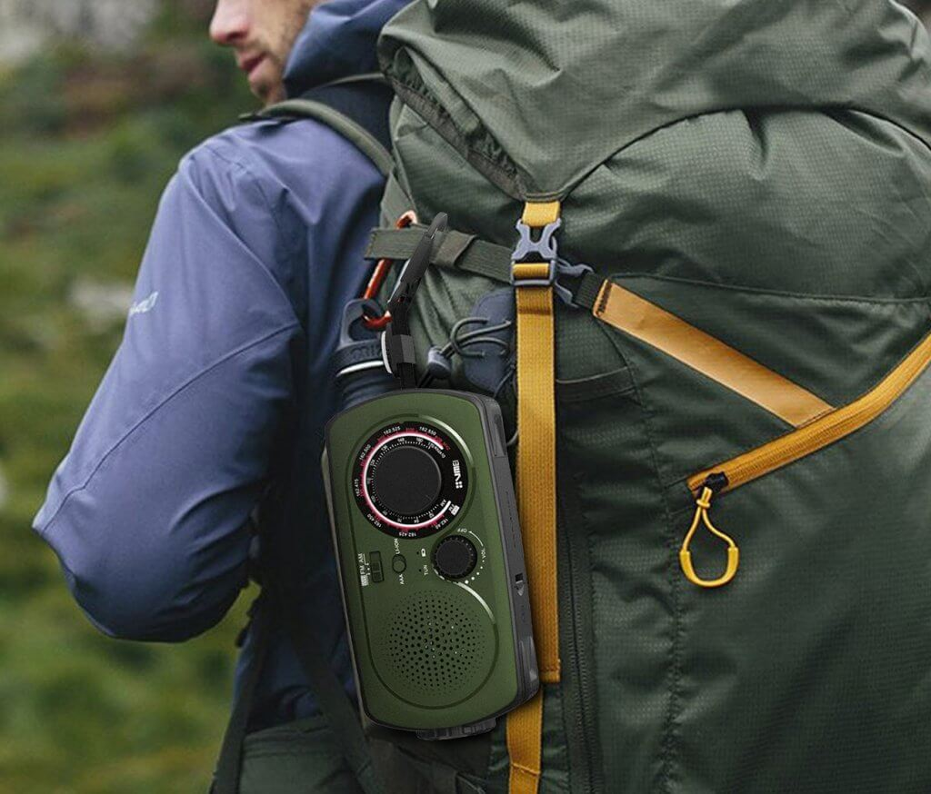 VMEI Emergency Radio for hiking