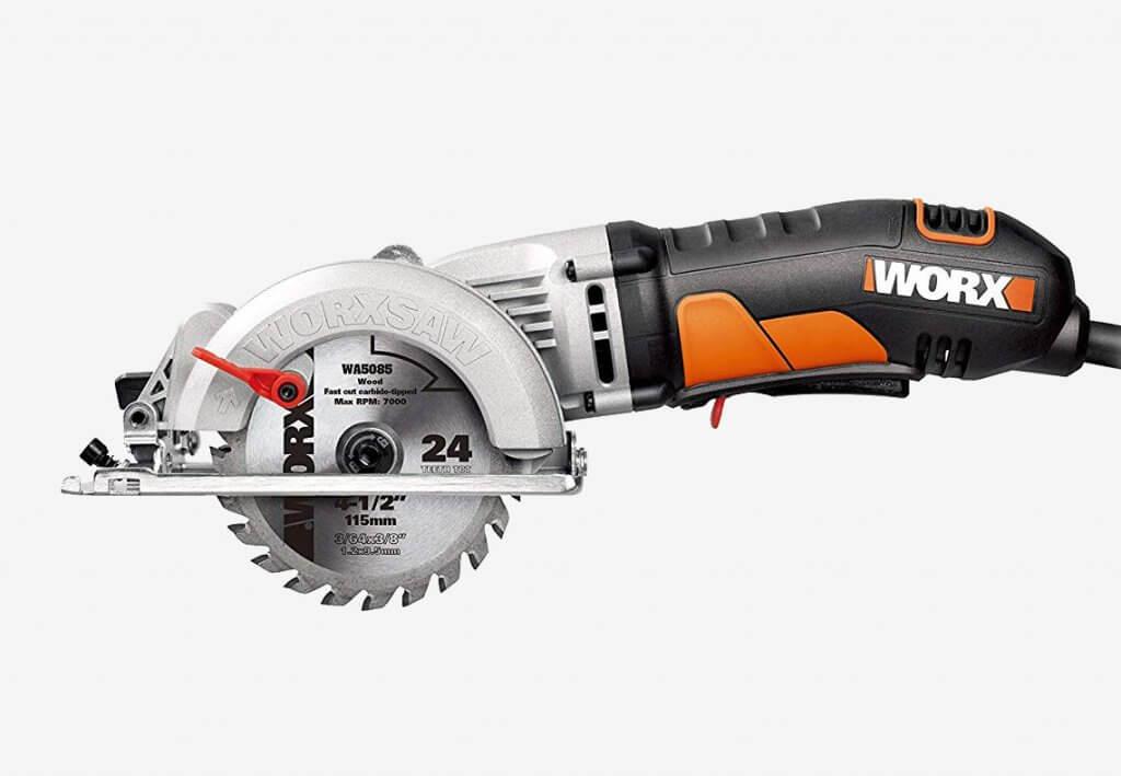 WORX Worxsaw 4-12 Inch Compact Circular Saw WX429L
