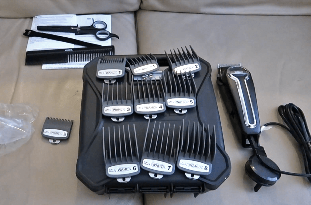 Wahl Elite Pro High-Performance Haircut Kit unboxed