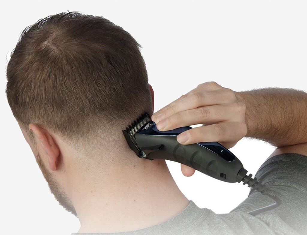 Wahl Self-Cut Haircutting Kit used for haircut