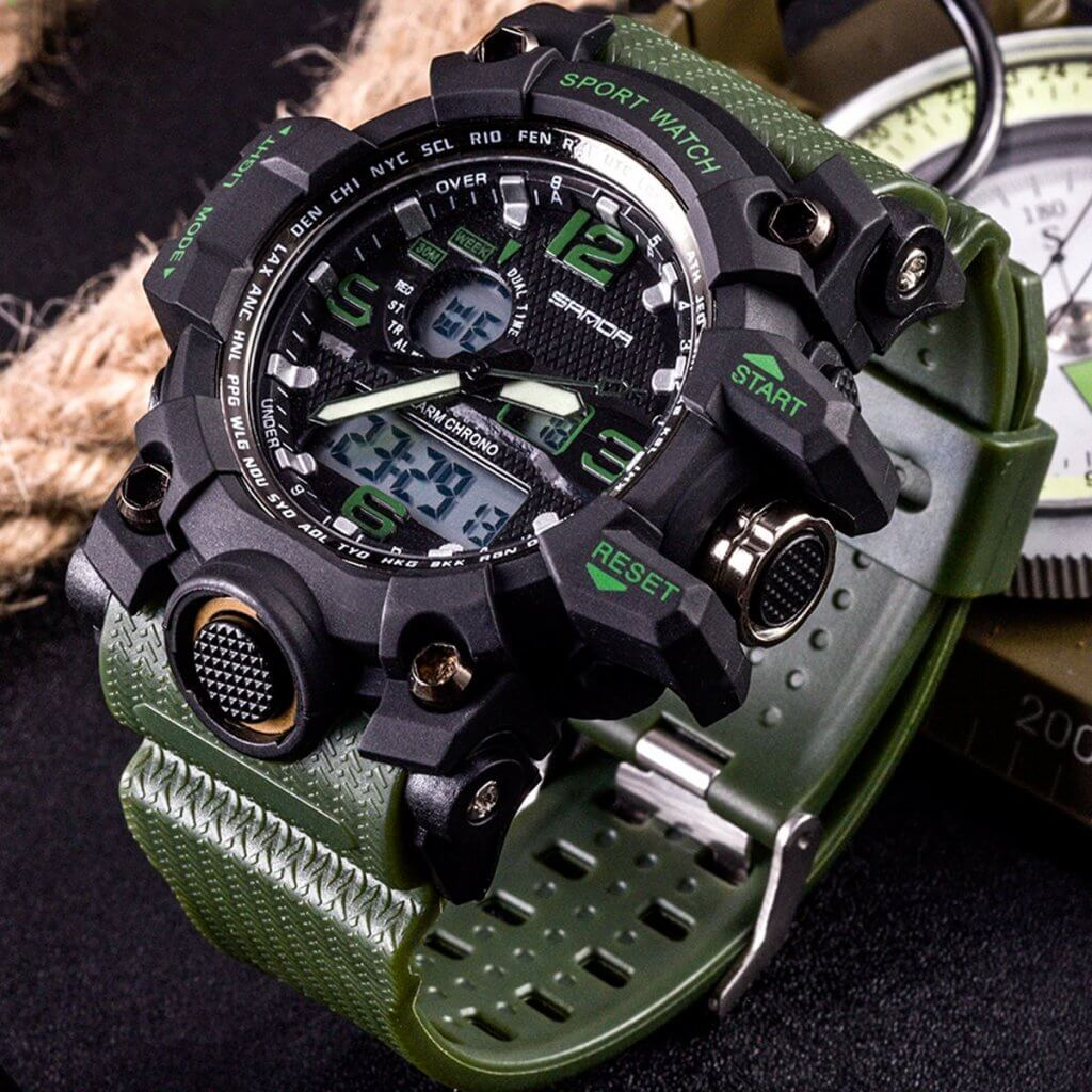 Yihou tactical watch for outdoor use