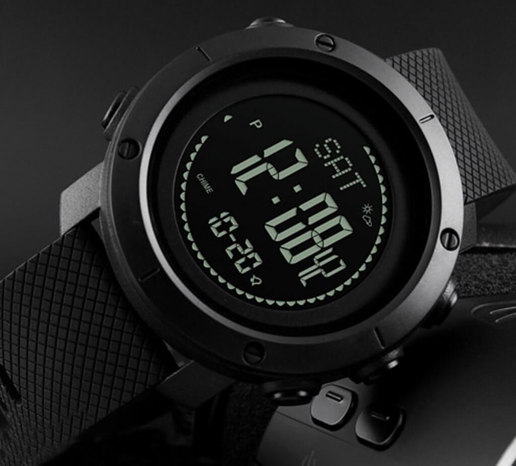 cnBro Digital Watch on side