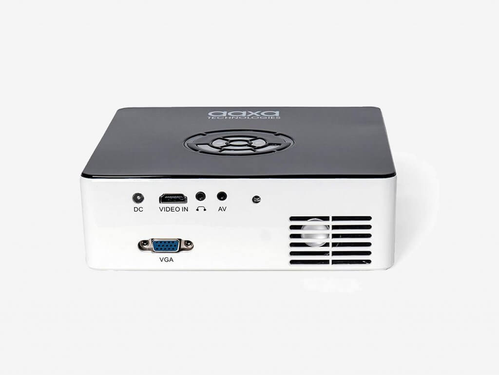 AAXA M6 Mini Projector back