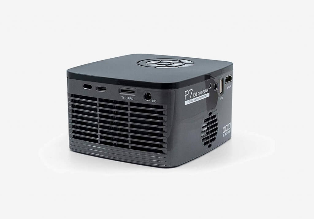 AAXA P7 Mini Projector back