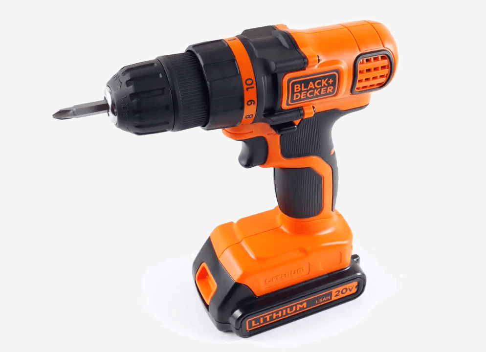 BLACK+DECKER 20V MAX Drill & Driver (LDX120C) unboxed