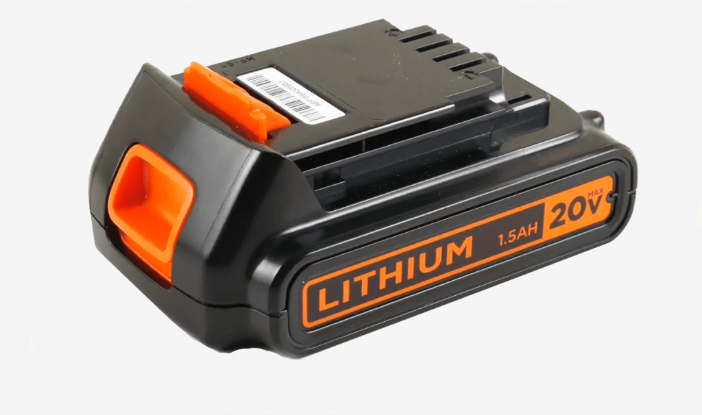 BLACK+DECKER 20V MAX battery
