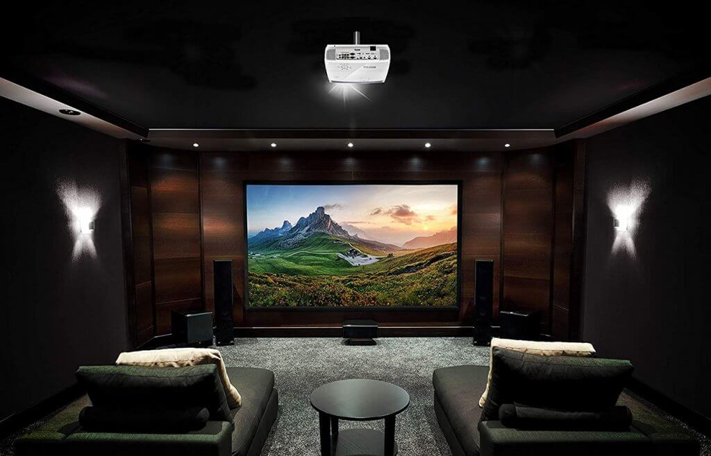 BenQ HT2050A Mini Projector in home theatre