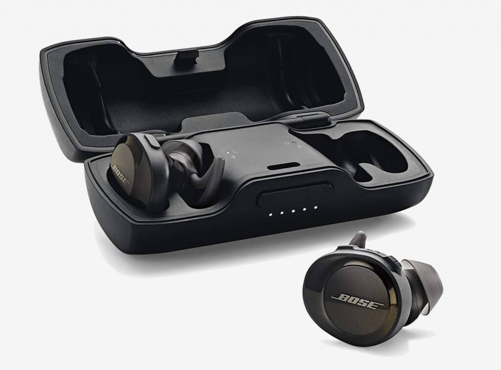 Bose SoundSport Free Truly Wireless Running Headphones and case