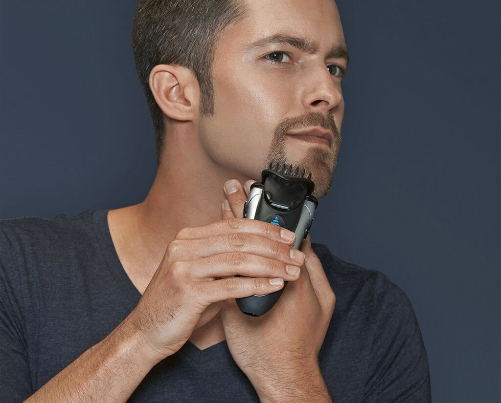 Braun MG5090 Mens Electric Shaver 3-In-1 used for trimming