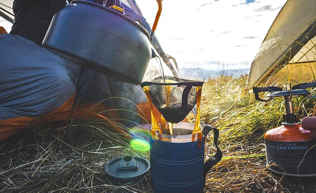 Camping with the GSI Outdoors Ultralight Coffee Maker