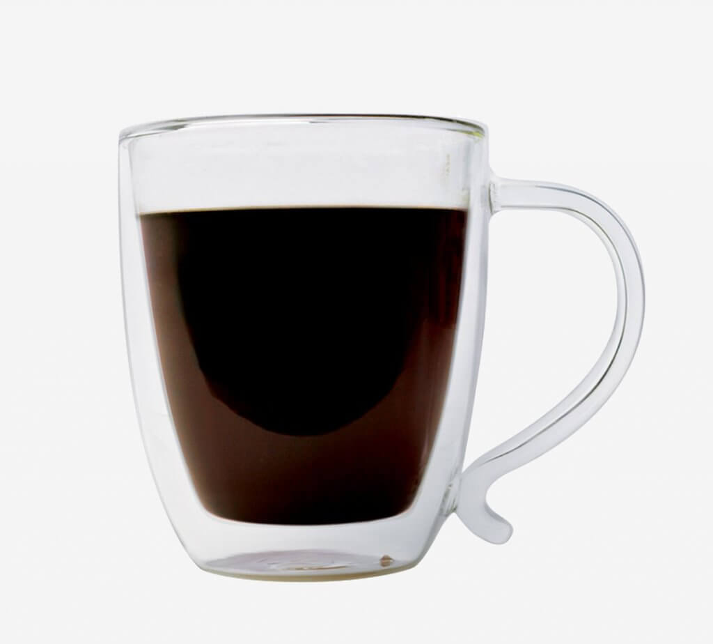 Coffee is ready to drink in the Primula Brew Buddy