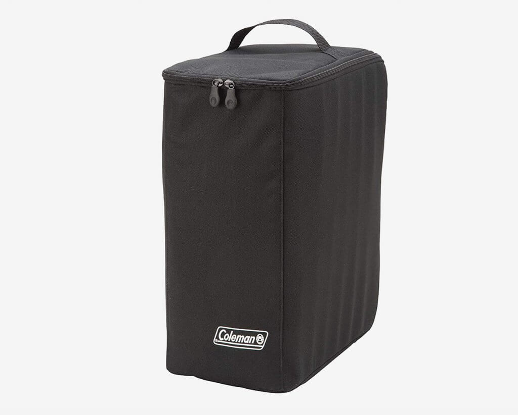 Coleman QuikPot stored in the bag