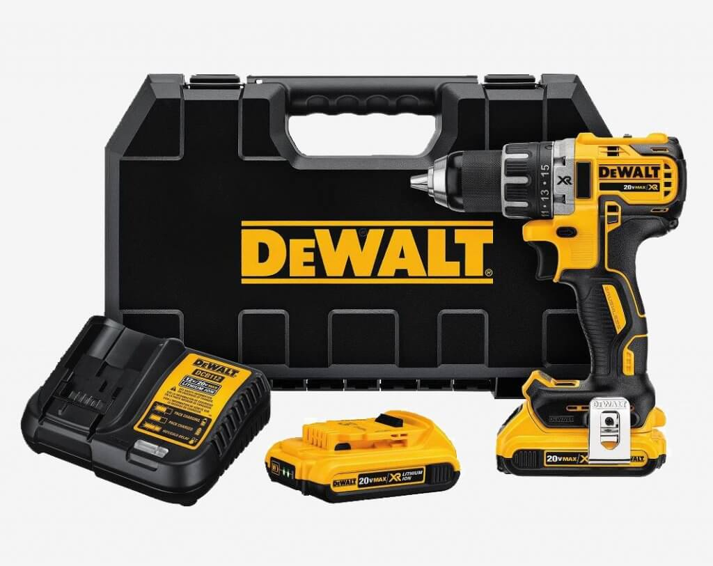 DEWALT 20V MAX XR Brushless Drill & Driver (DCD791D2) and case