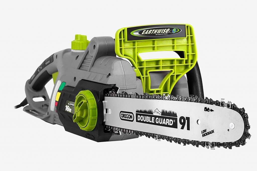 Earthwise CS33016 Electric Chainsaw front