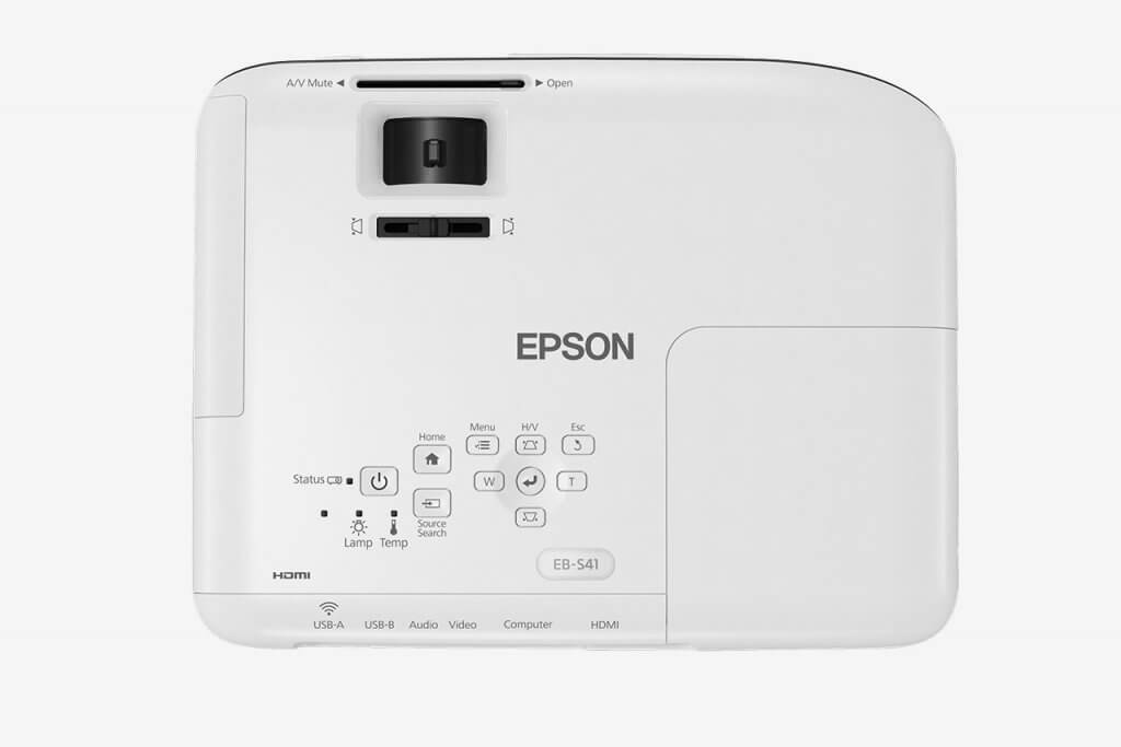 Epson PowerLite EB-S41 top