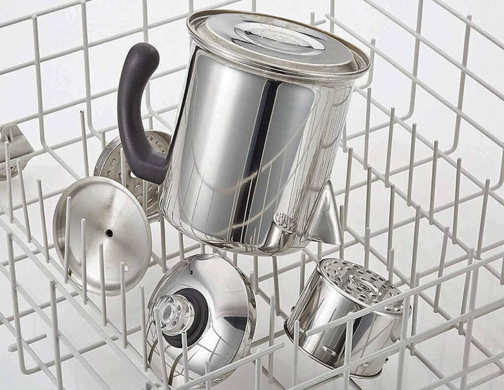 Farberware Classic Stainless Steel in the dishwasher