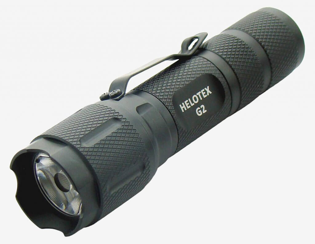 Helotex G2 CREE LED EDC Tactical Flashlight