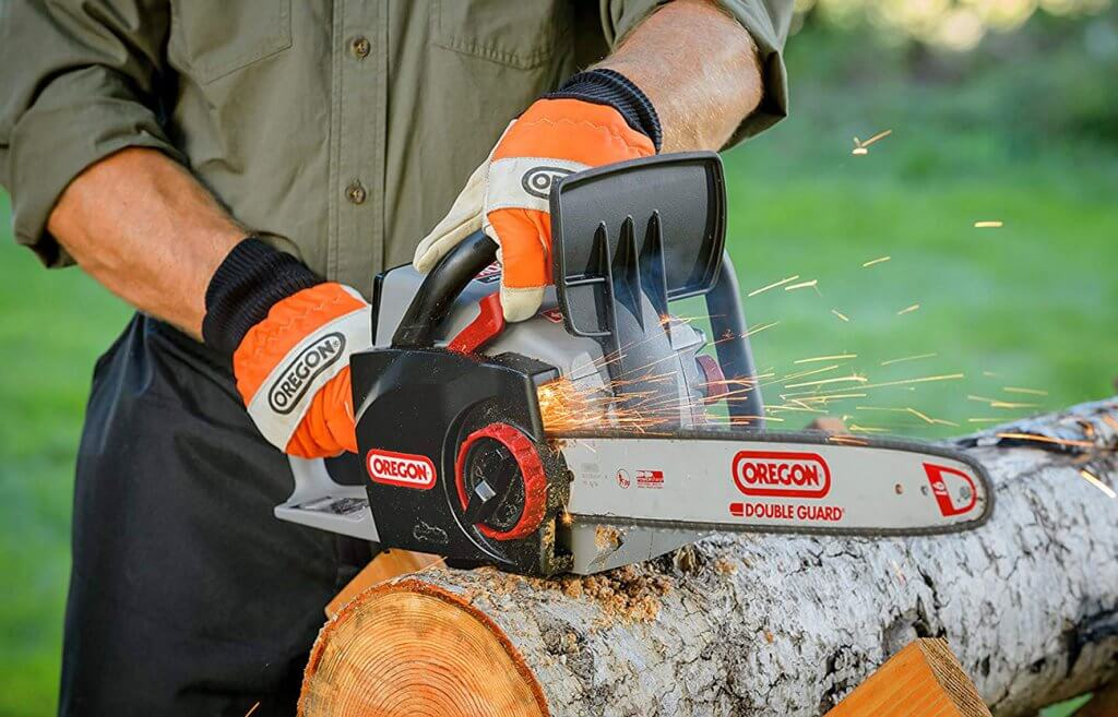 Oregon Cordless CS300-A6 Electric Chainsaw self-sharpening blade