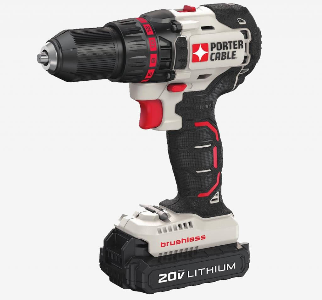 Porter-Cable 20V MAX Brushless Drill & Driver (PCC608LB)