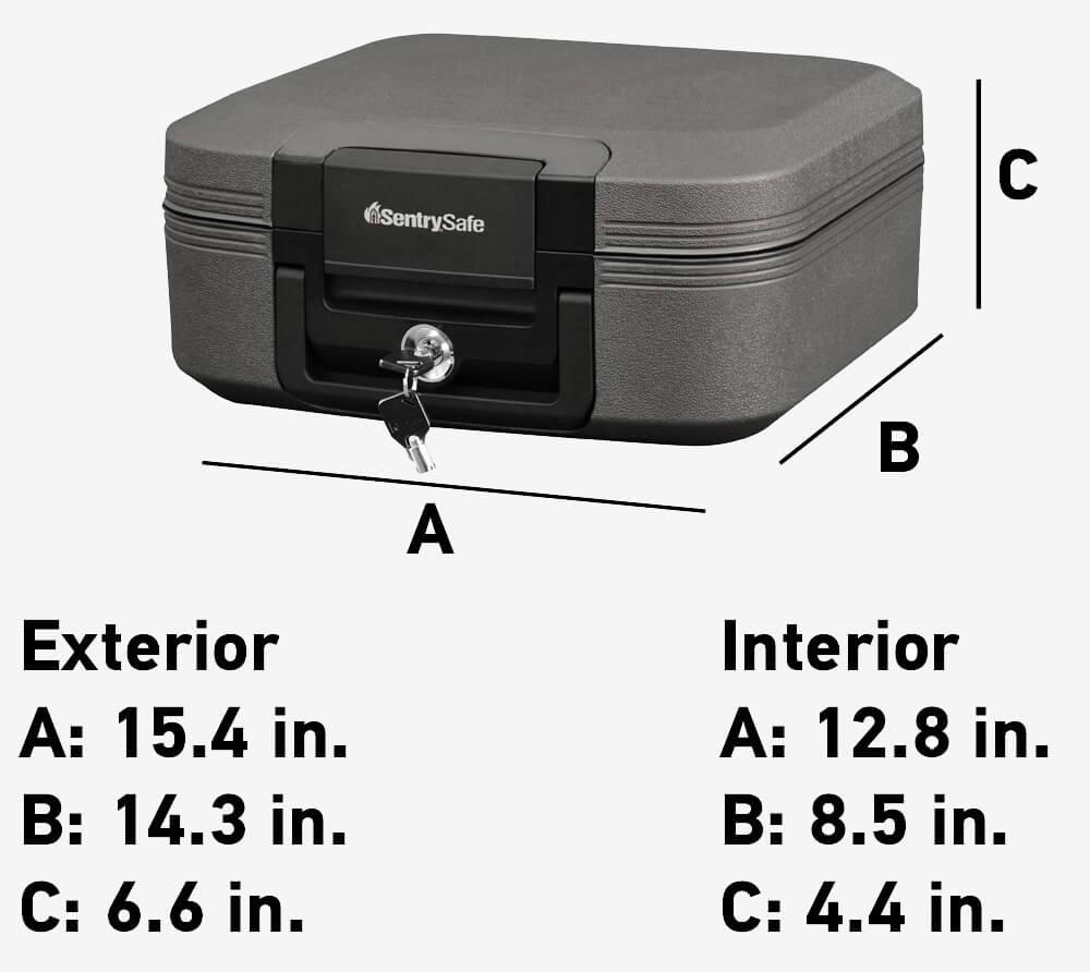 SentrySafe CHW20221 measurements