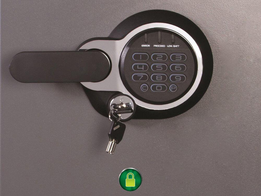 SentrySafe SFW123GDC Lock