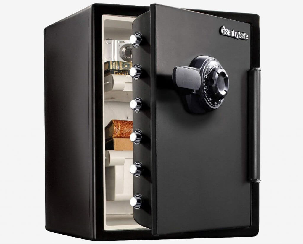 SentrySafe SFW205CWB Fireproof And Waterproof Safe