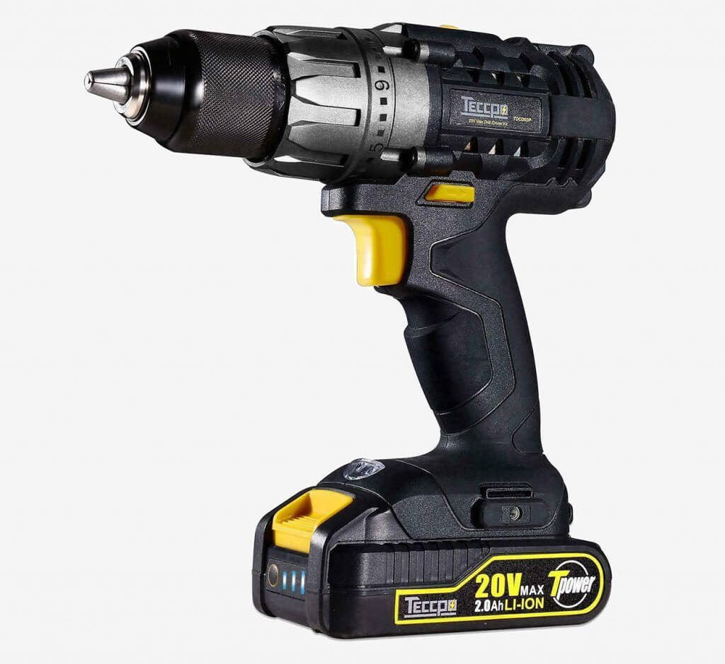 TECCPO 20V Power Drill & Driver (TDCD03P)