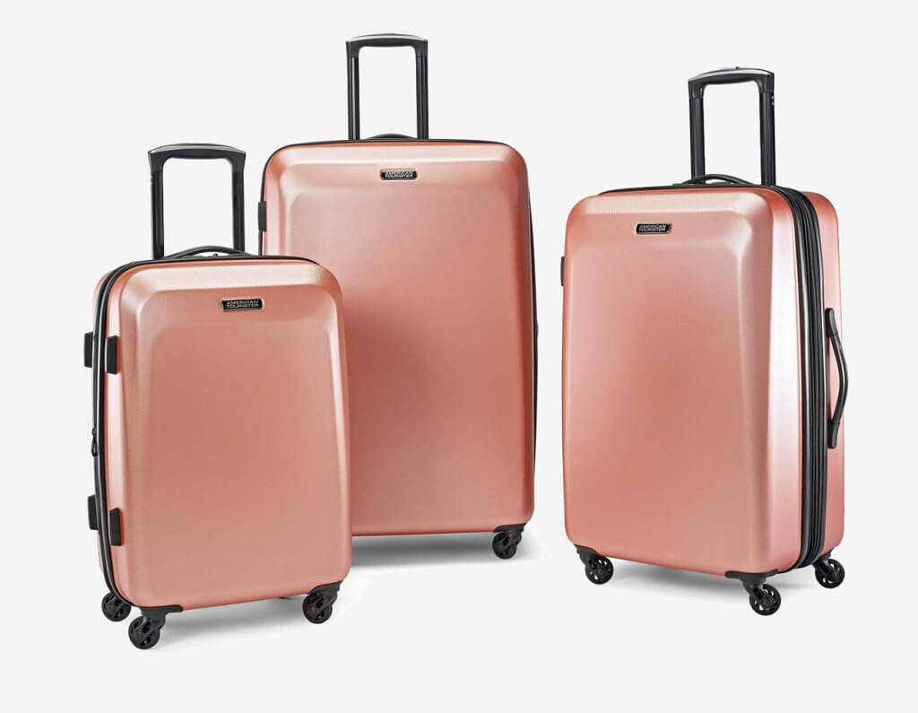 American Tourister Moonlight Expandable Luggage Set
