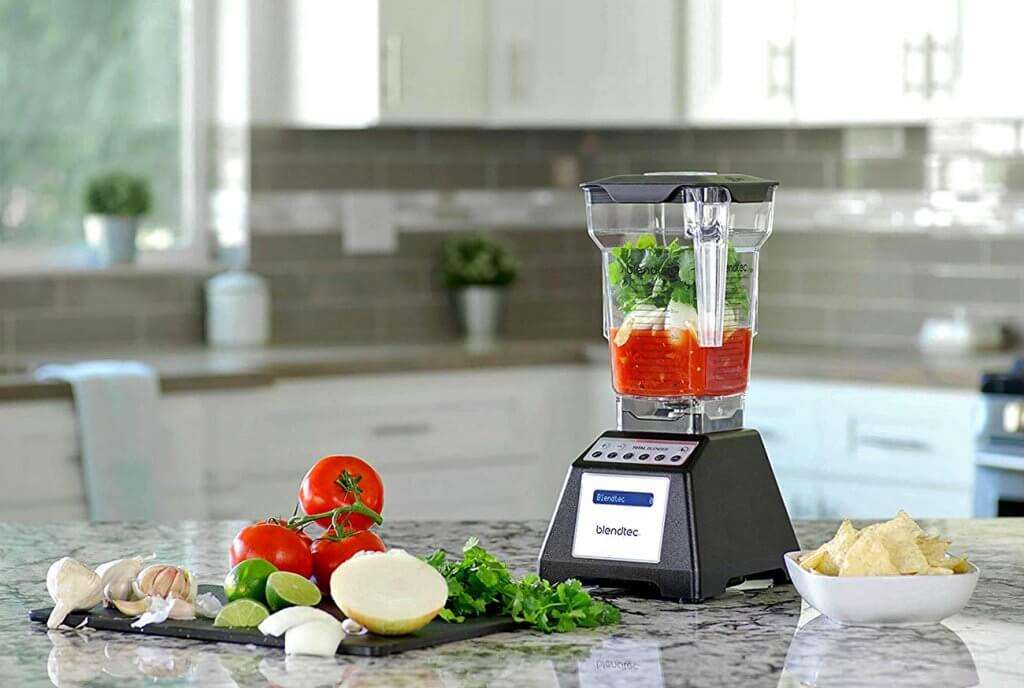 Blendtec Total Classic in the kitchen