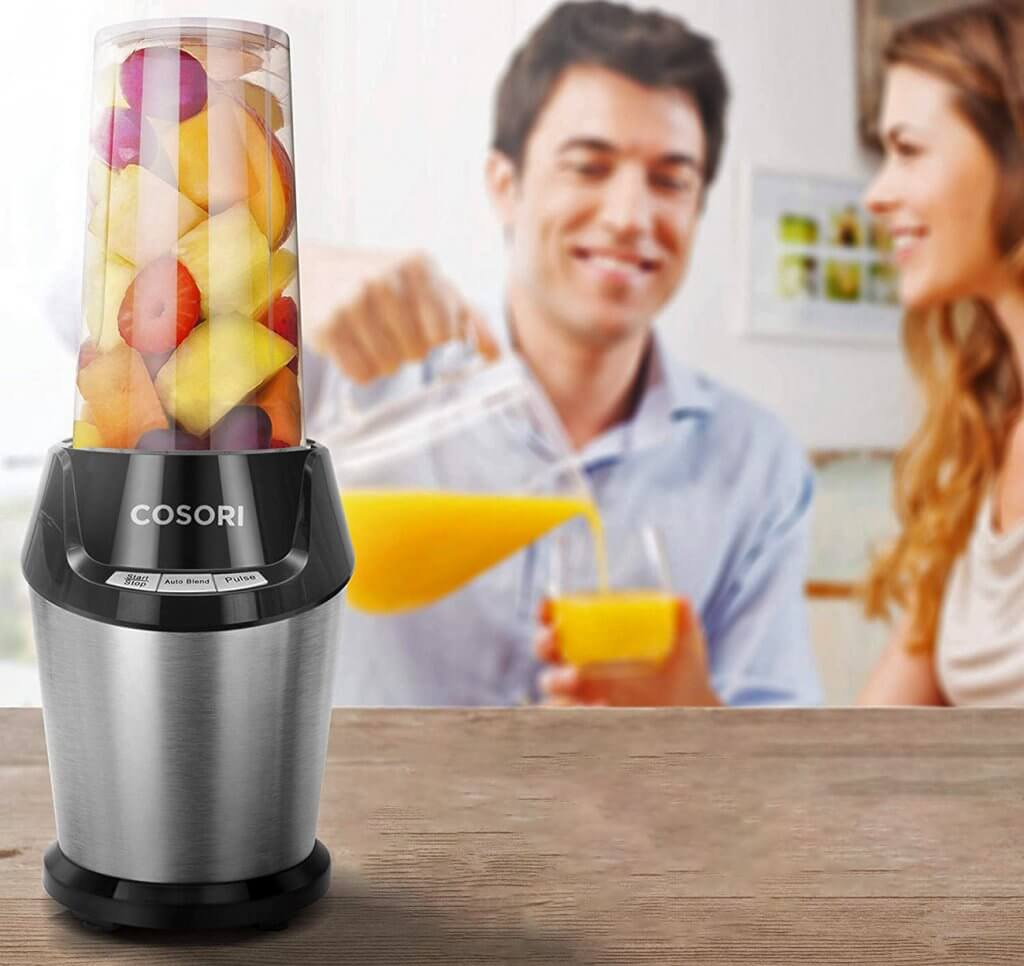 COSORI Personal Blender used for a smoothie