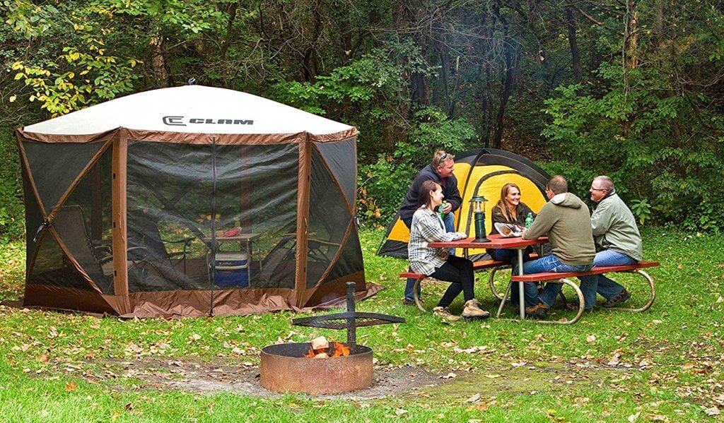 Closed Quick Set Escape Shelter Pop-up Canopy