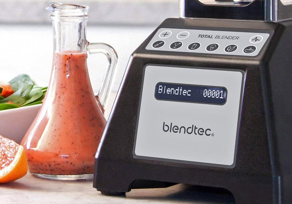 Controls of the Blendtec blender