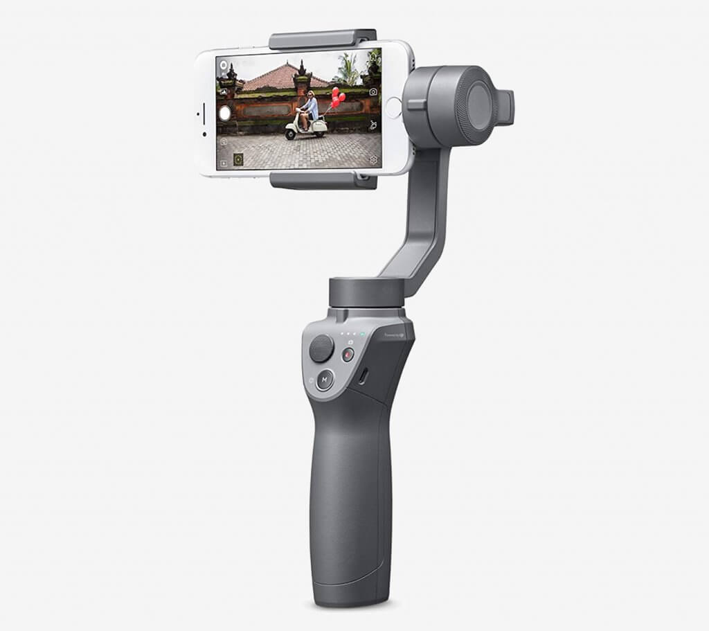 DJI OSMO Mobile 2 and iPhone back