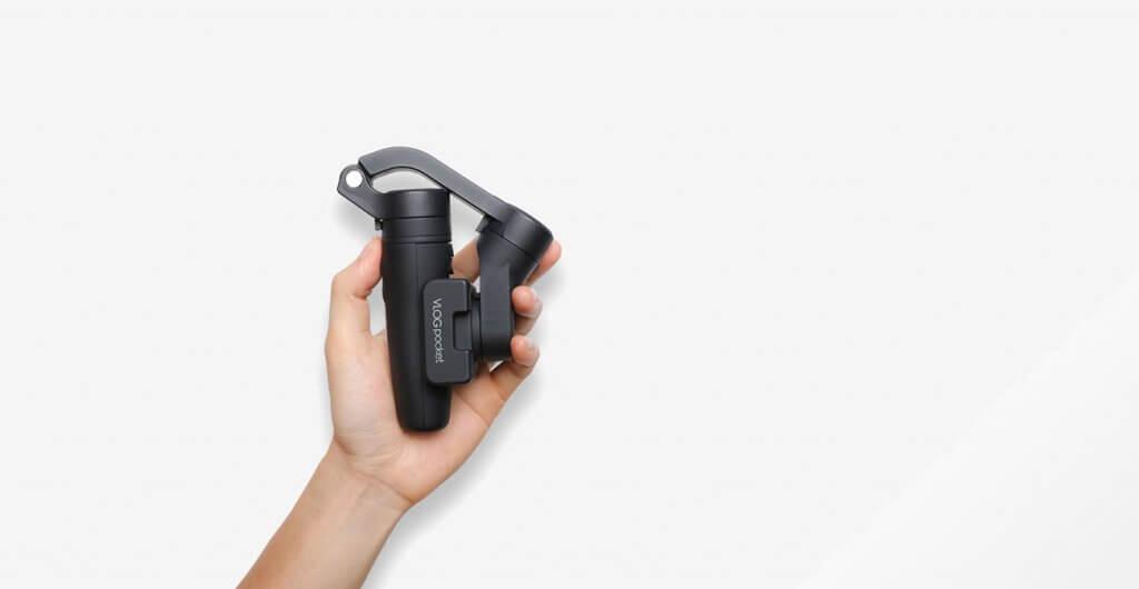 Feiyu VLOG Pocket Smartphone Gimbal folded