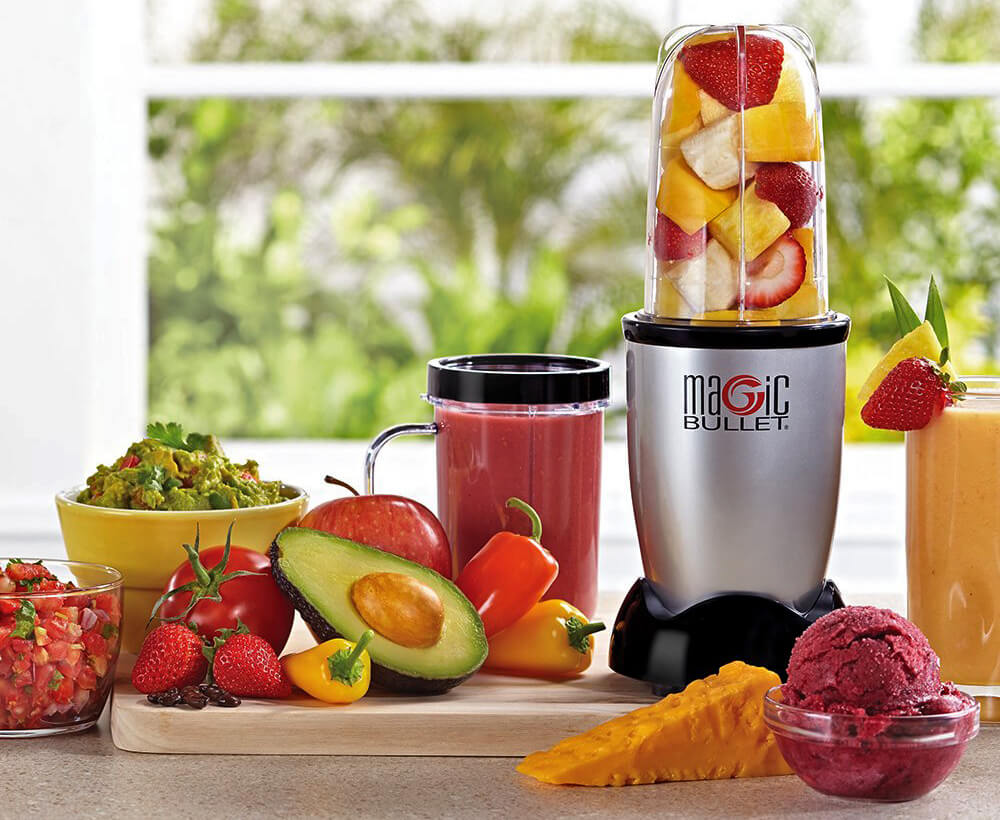 Fruits and the Magic Bullet Blender