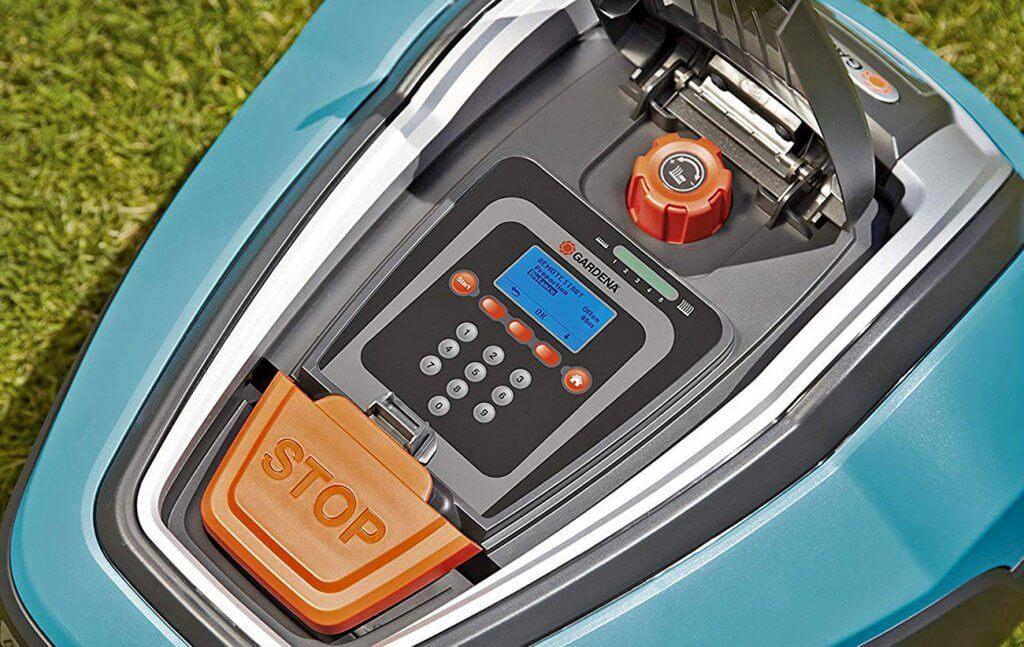 Gardena R80Li controls