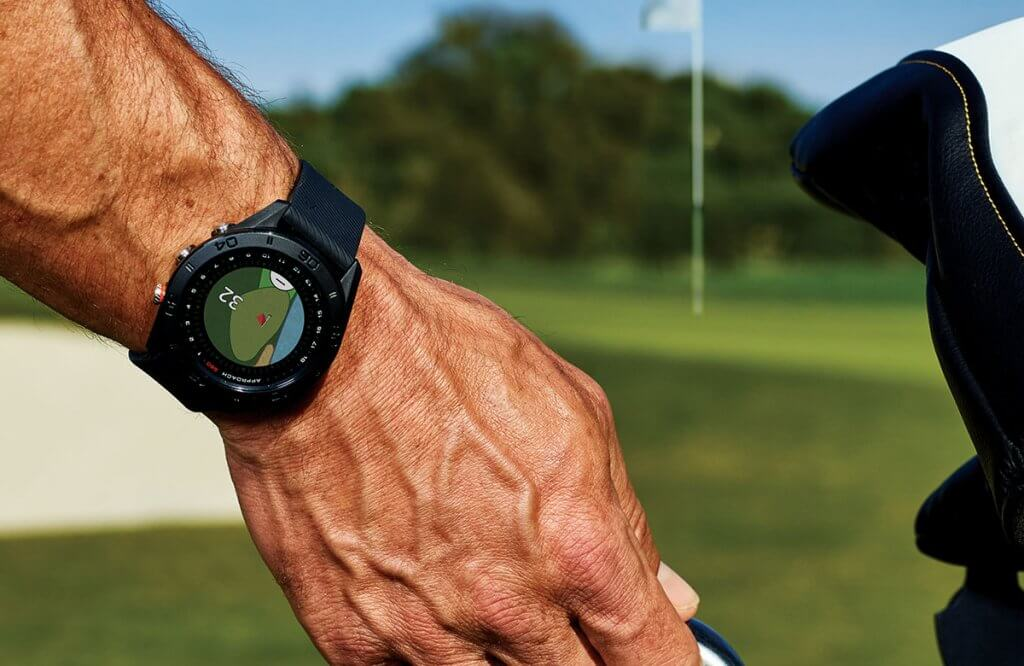 Glof Watch Garmin S60 on the course