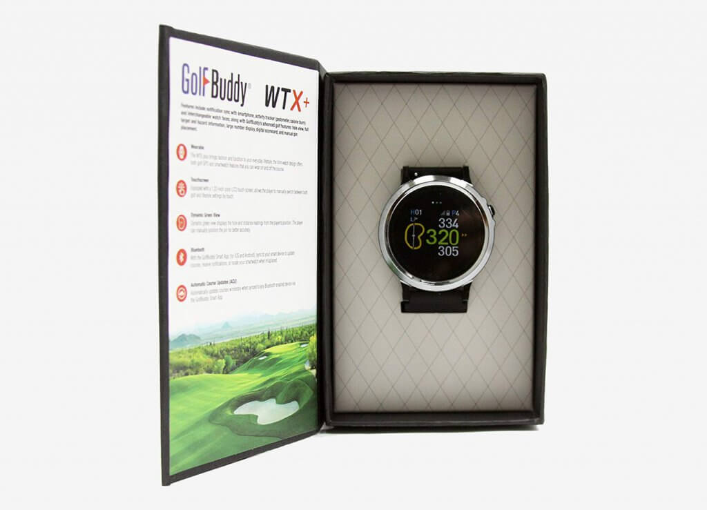 GolfBuddy GB9 WTX+ in box