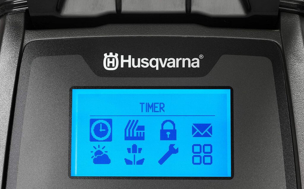 Husqvarna AUTOMOWER 315X display