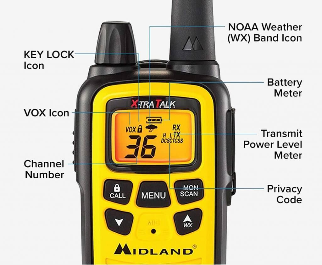 Midland LXT630VP3 FRS details