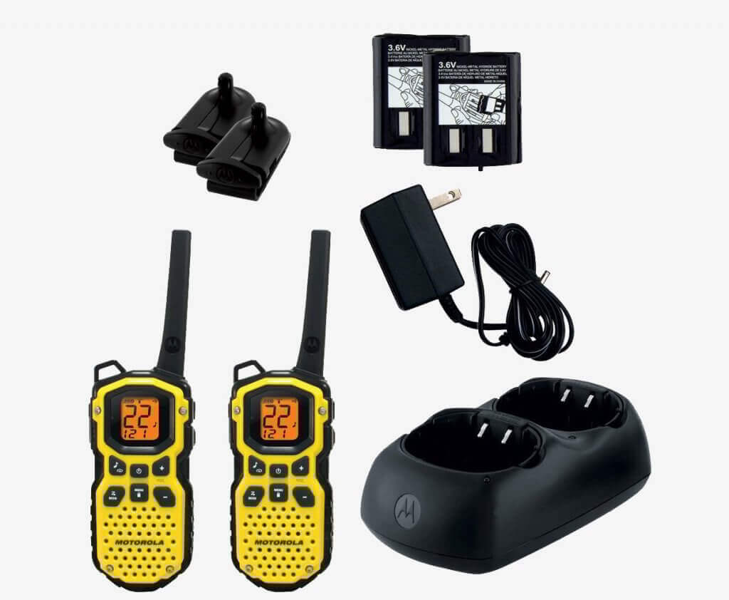 Motorola MS350R and accessories