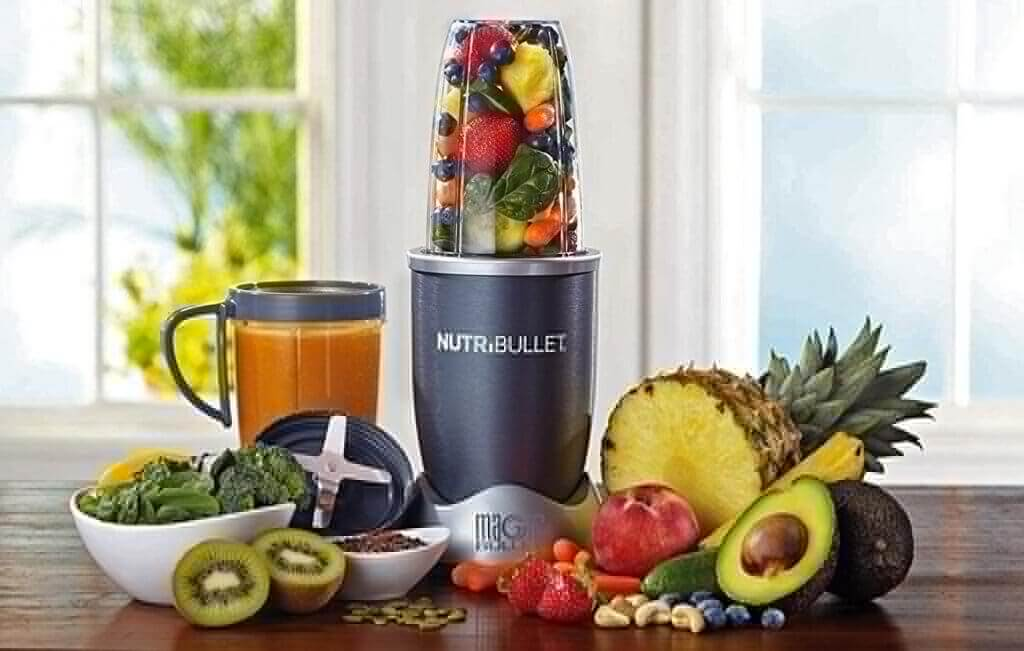 NutriBullet 12-Piece NBR-1201 in the kitchen