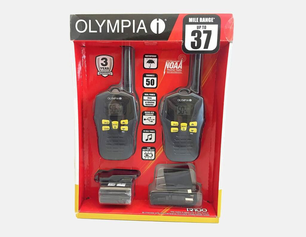 Olympia R100 packaging