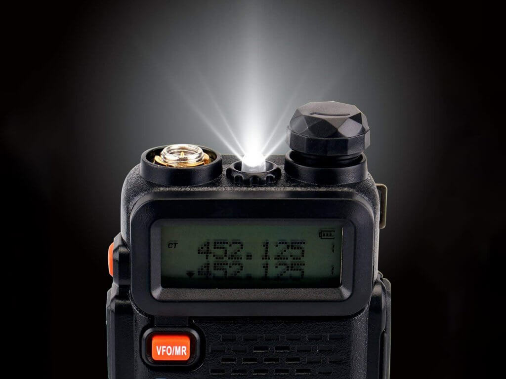 Retevis RT-5R Two-Way Radio 128CH light