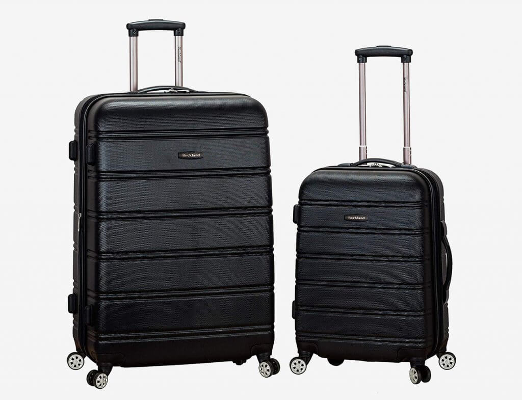 Rockland Two-Piece Luggage Set