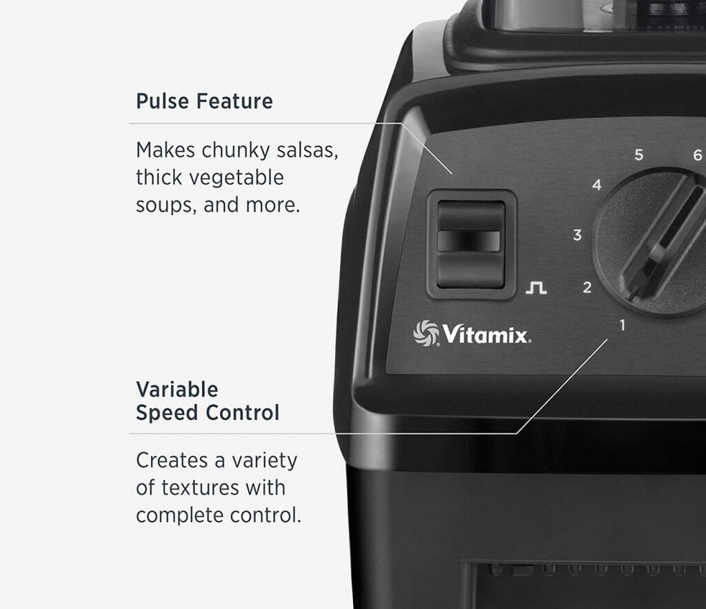 Vitamix Explorian E310 Buttons