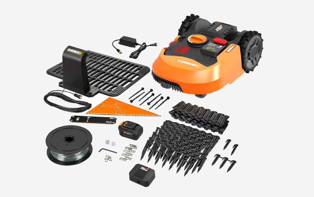 WORX Landroid WR150 and accessories