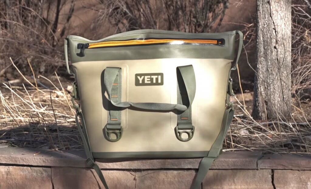 YETI Hopper outdoors
